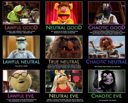 D&D Muppets