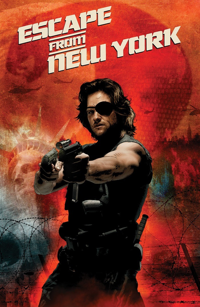 first look�the adventures of snake plissken continue in