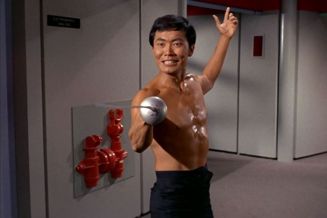 George Takei Sulu in The Naked Time