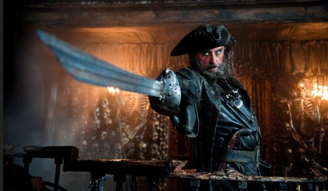 Ian McShane Teach Pirates Blackbeard