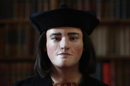 King Richard III printed bust