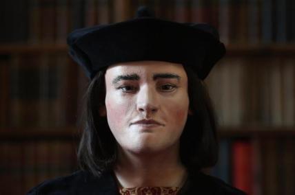King Richard III printed bust