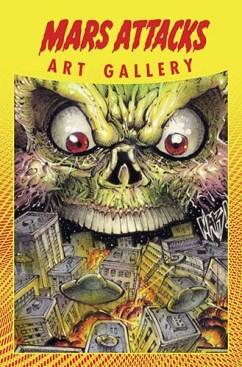 Mars Attacks Art Gallery cover