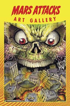 Mars Attacks Art Gallery cover