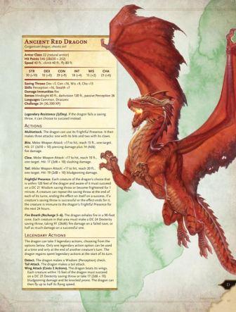 Monster Manual excerpt C