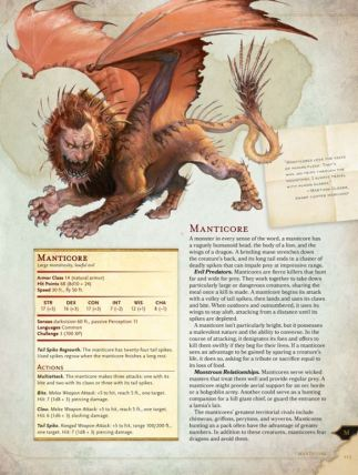 Monster Manual excerpt D