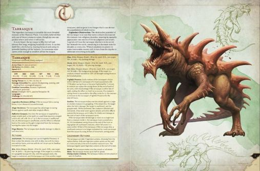 Monster Manual excerpt E