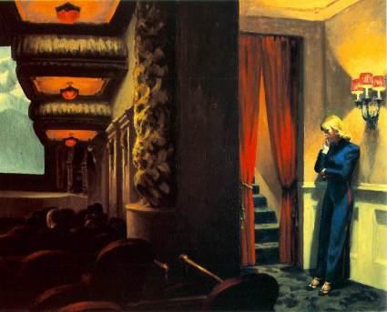 New York Movie 1939 by Edward Hopper