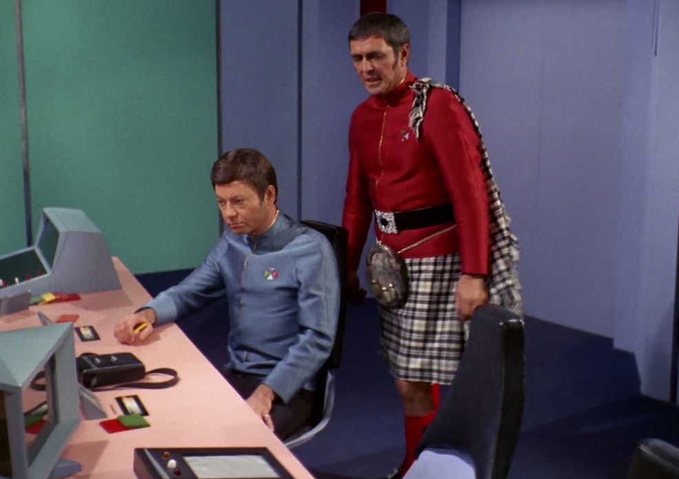 Scotty in kilt