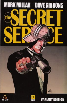 Secret Service variant cover