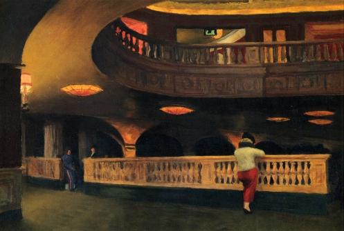 Sheridan Theater by Edward Hopper
