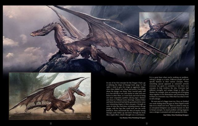 Smaug Unleashing the Dragon excerpt