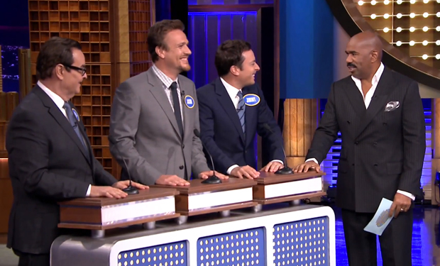 Tonight Show Family Feud Fallon Steve Harvey