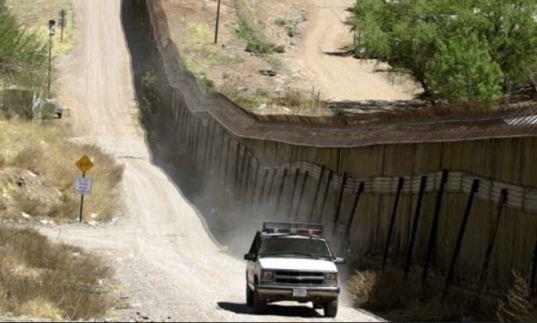 US Mexico border