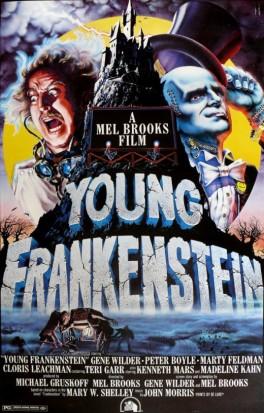 Young Frankenstein one-sheet John Alvin