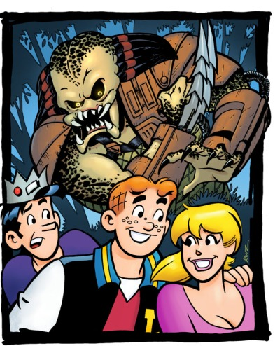 Archie Meets Predator first look