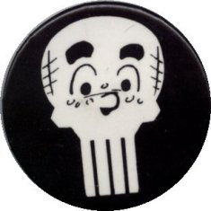 Archie skull button