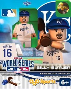 Billy Butler World Series Oyo KC Royals figure 2014