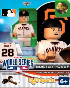 Buster Posey SF Giants World Series Oyo figure 2014