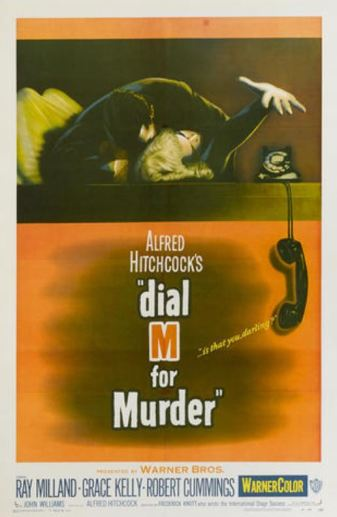 Dial M for Murder original poster