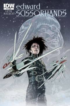 Edward Scissorhands issue 1 cover art