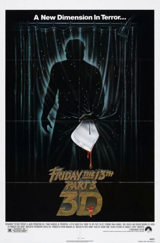 Friday the 13th Part 3 film poster