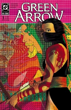 Green Arrow 9 cover
