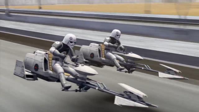Imperial bikers Spark of Rebellion Star Wars Rebels