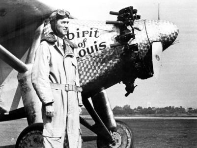 Jimmy Stewart Lindbergh Spirit of St Louis