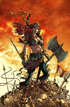 Legenderry Red Sonja Davila cover