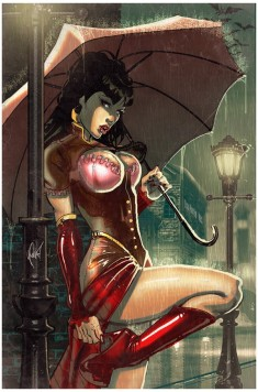 Legenderry Vampirella Poulat cover