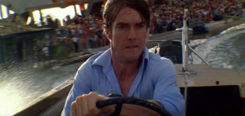 Quaid in Jaws 3-D