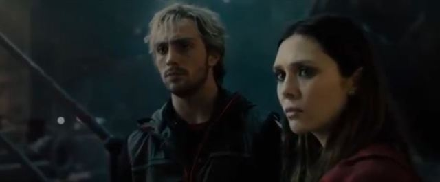 Quicksilver and Scarlet Witch from Avengers Age of Ultron