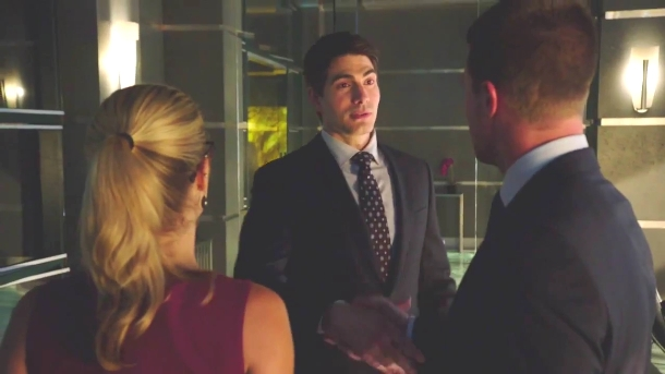Routh on Arrow as Ray Palmer