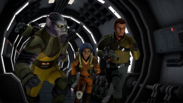 Star Wars Rebels scene