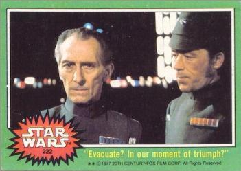 Star Wars trading card Tarkin