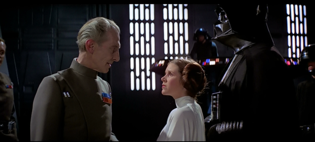 Tarkin scene from Star Wars