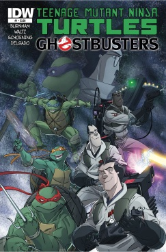 TMNT Ghostbusters issue 1