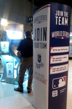 World Series 3D experience booth 2014