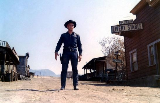 Yul Brynner in West World