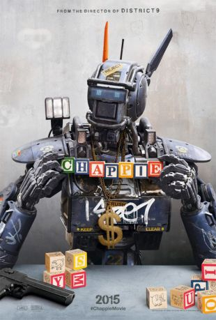 Chappie movie poster