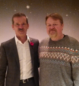 Chris Hadfield & Chris Bunce
