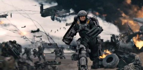 Edge of Tomorrow Omaha Beach scene