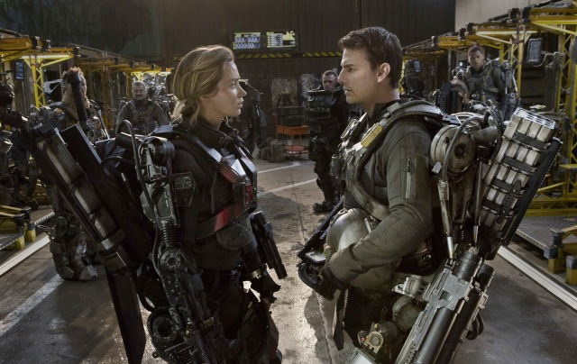 Edge of Tomorrow scene