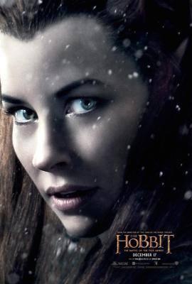 hobbit-battle-five-armies-tauriel-poster