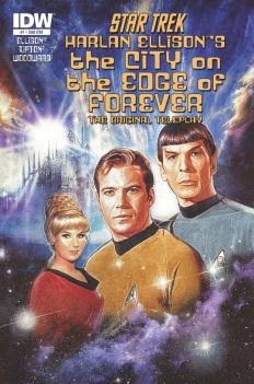 IDW Star Trek Harlan Ellison's The City on the Edge of Forever The Original Teleplay #1 Paul Shipper cover