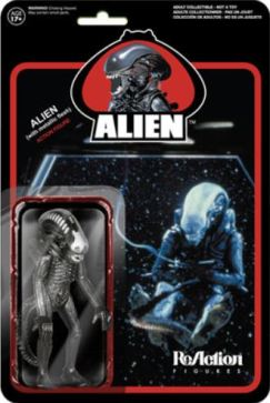 New metallic Alien figure