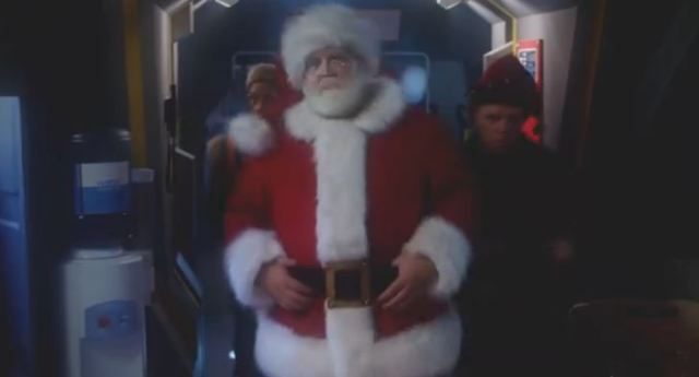 Nick Frost as Santa Claus Doctor Who