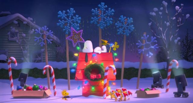 Peanuts movie 2015 Christmas