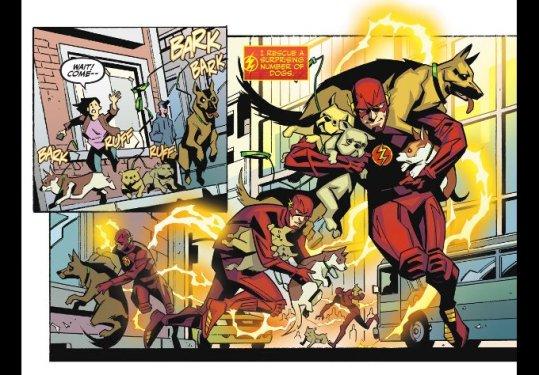 Phil Hester art on The Flash Season Zero